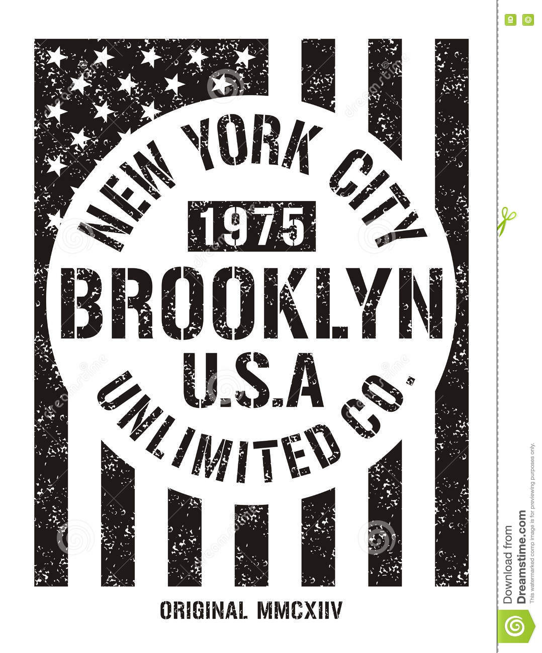 New York City Retro Vintage Typography Poster T Shirt