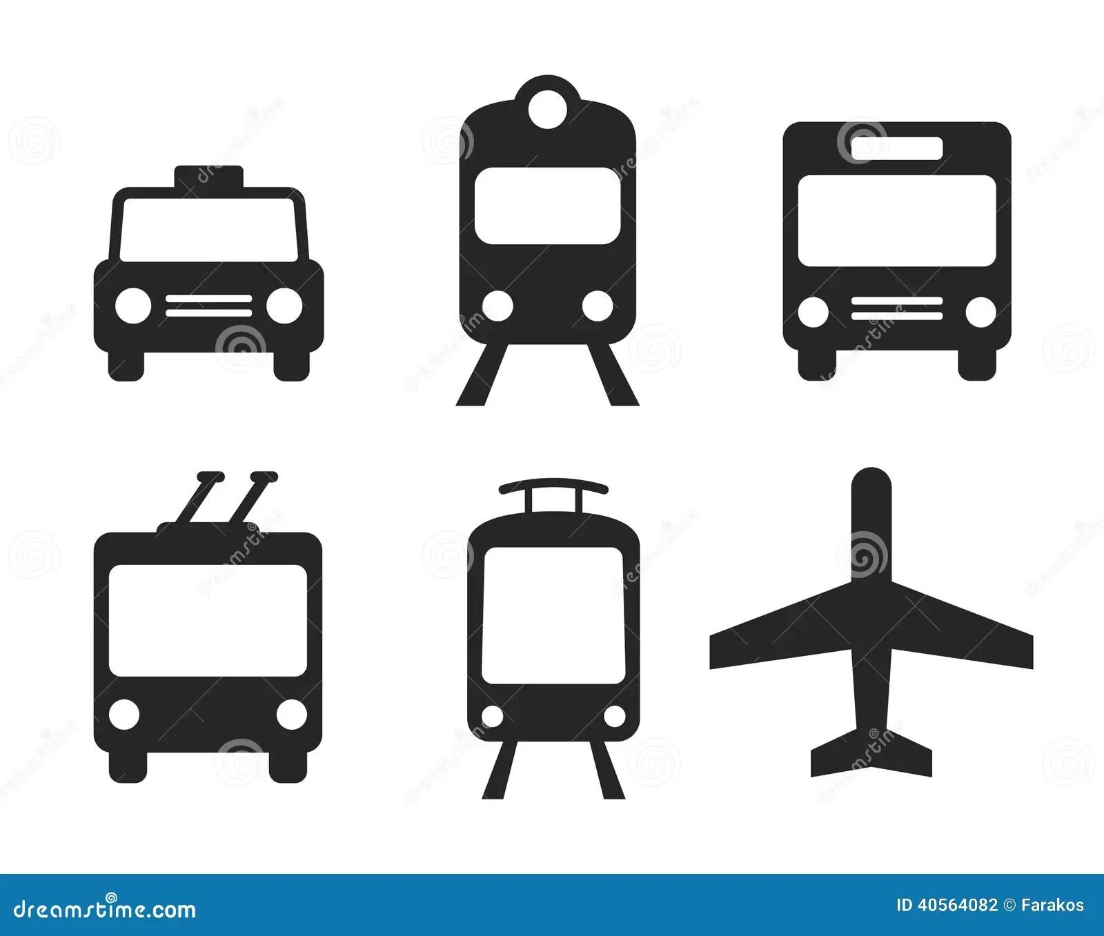 Graphismes De Transport Regles Illustration De Vecteur