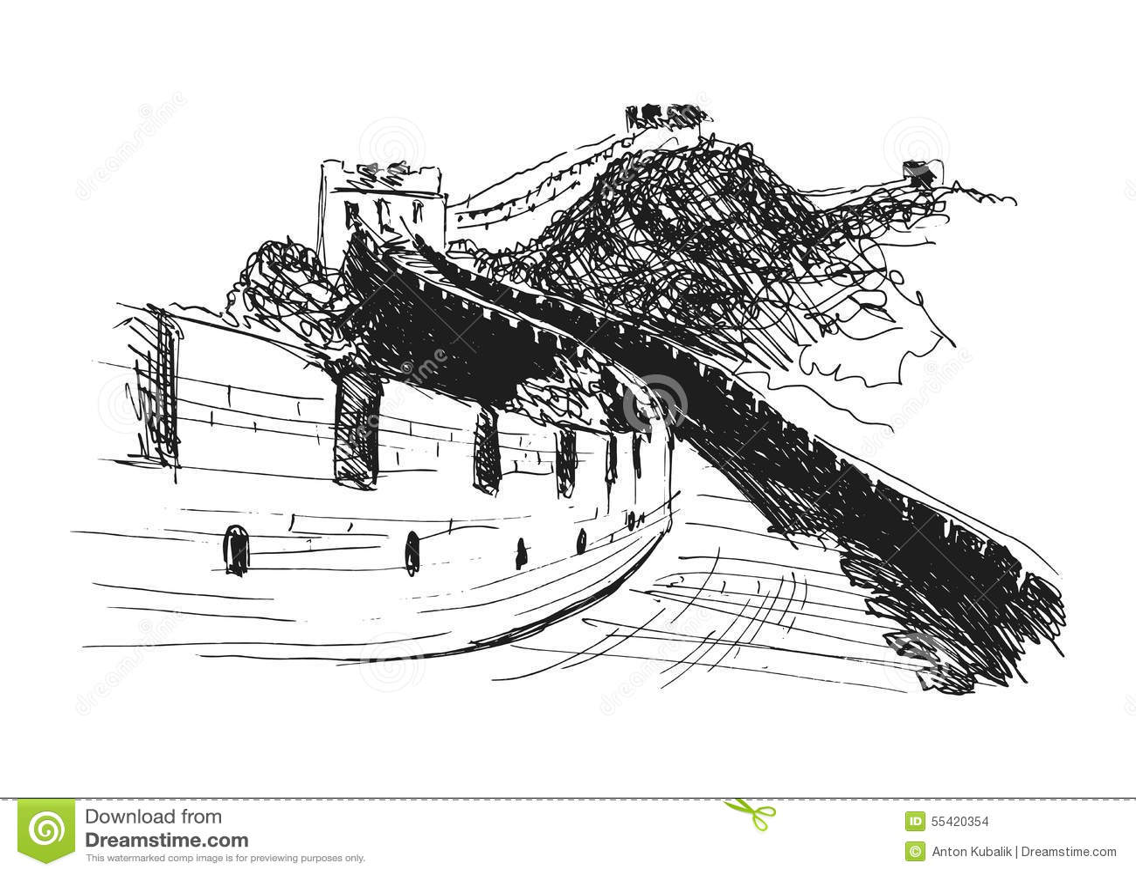 Jinshanling Cartoons Illustrations Amp Vector Stock Images