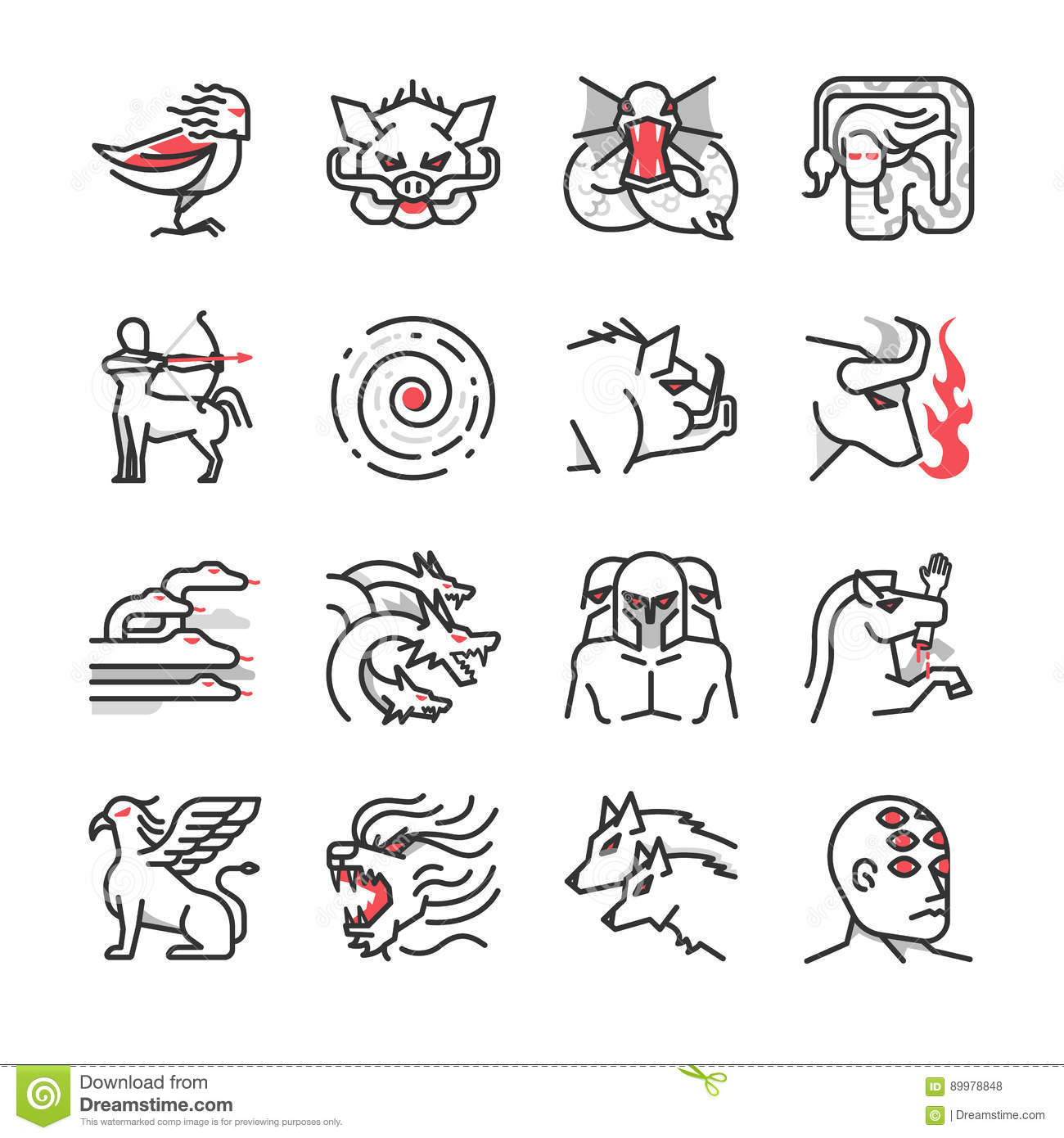 Hydra Cartoons Illustrations Amp Vector Stock Images