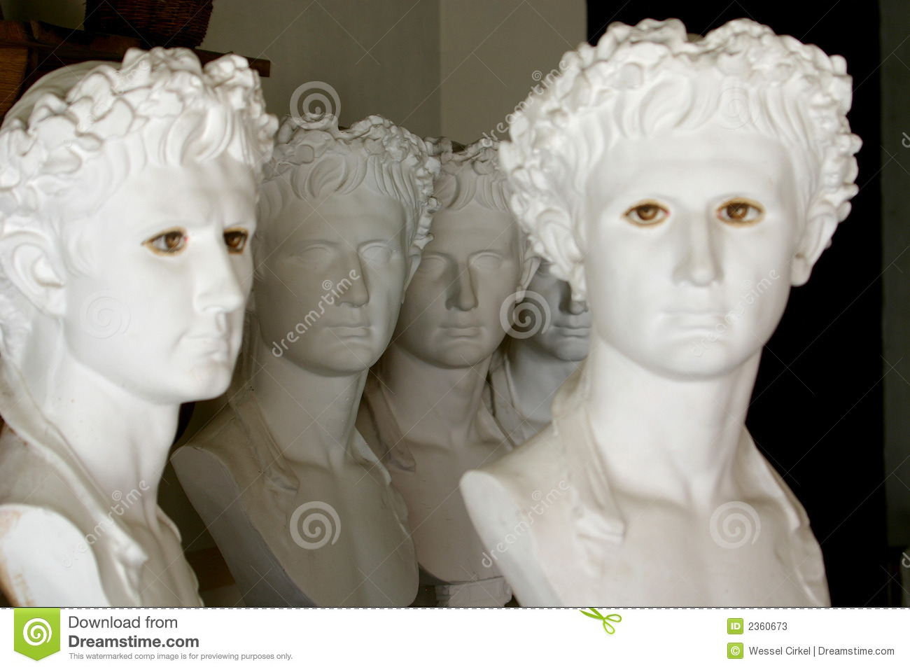 Greek Sculptures Stock Photos Image 2360673