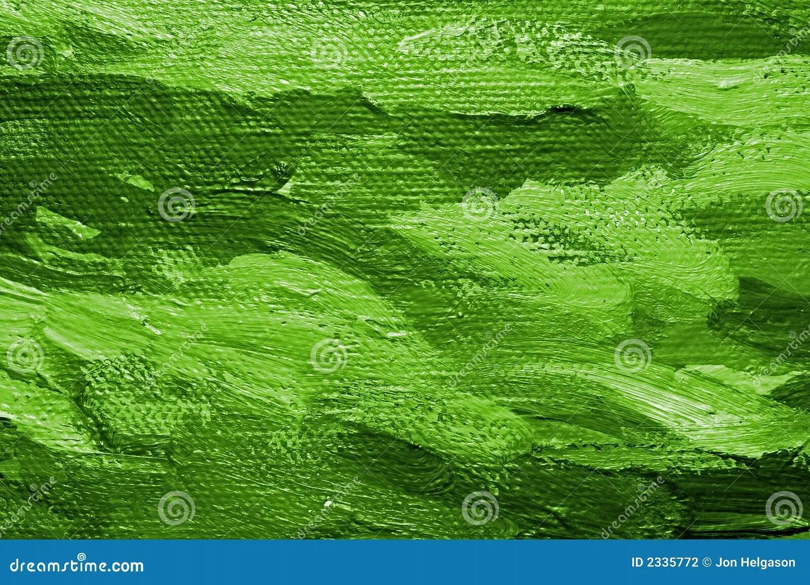Green Oil Paint Background Stock Illustration