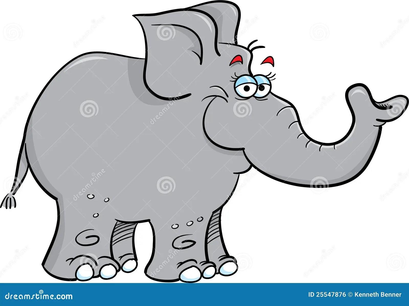 Grey Elephant Royalty Free Stock Image