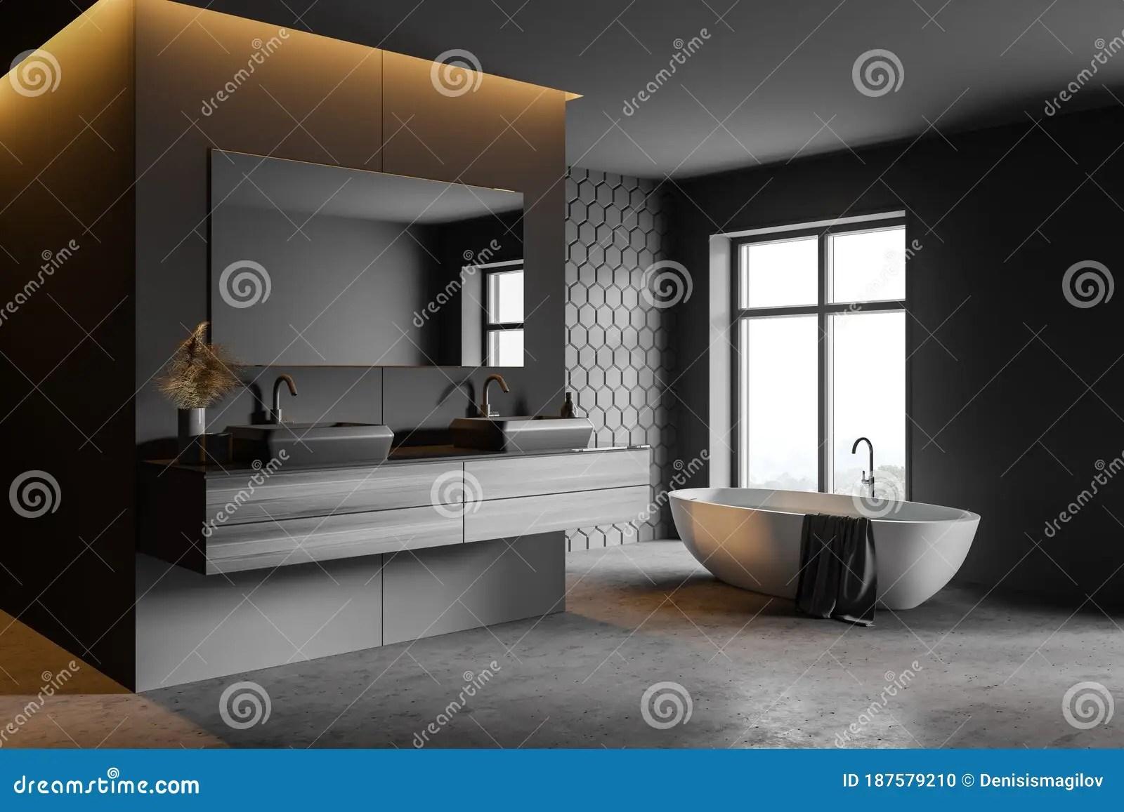 grey honeycomb tile bathroom corner stock illustration illustration of furniture apartment 187579210