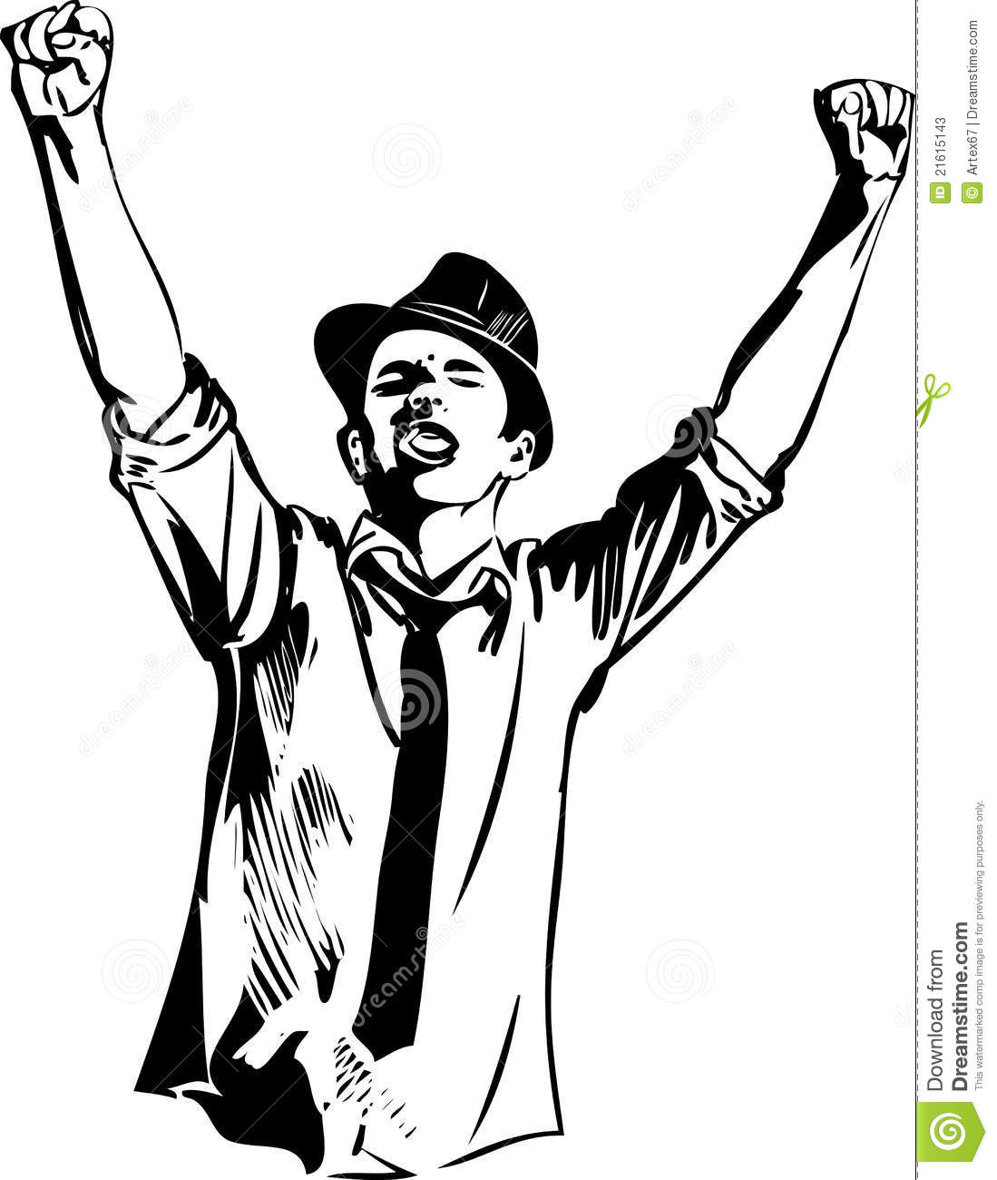 Illustration Clenched Fist Sketch Pics Stock Photos All Sites