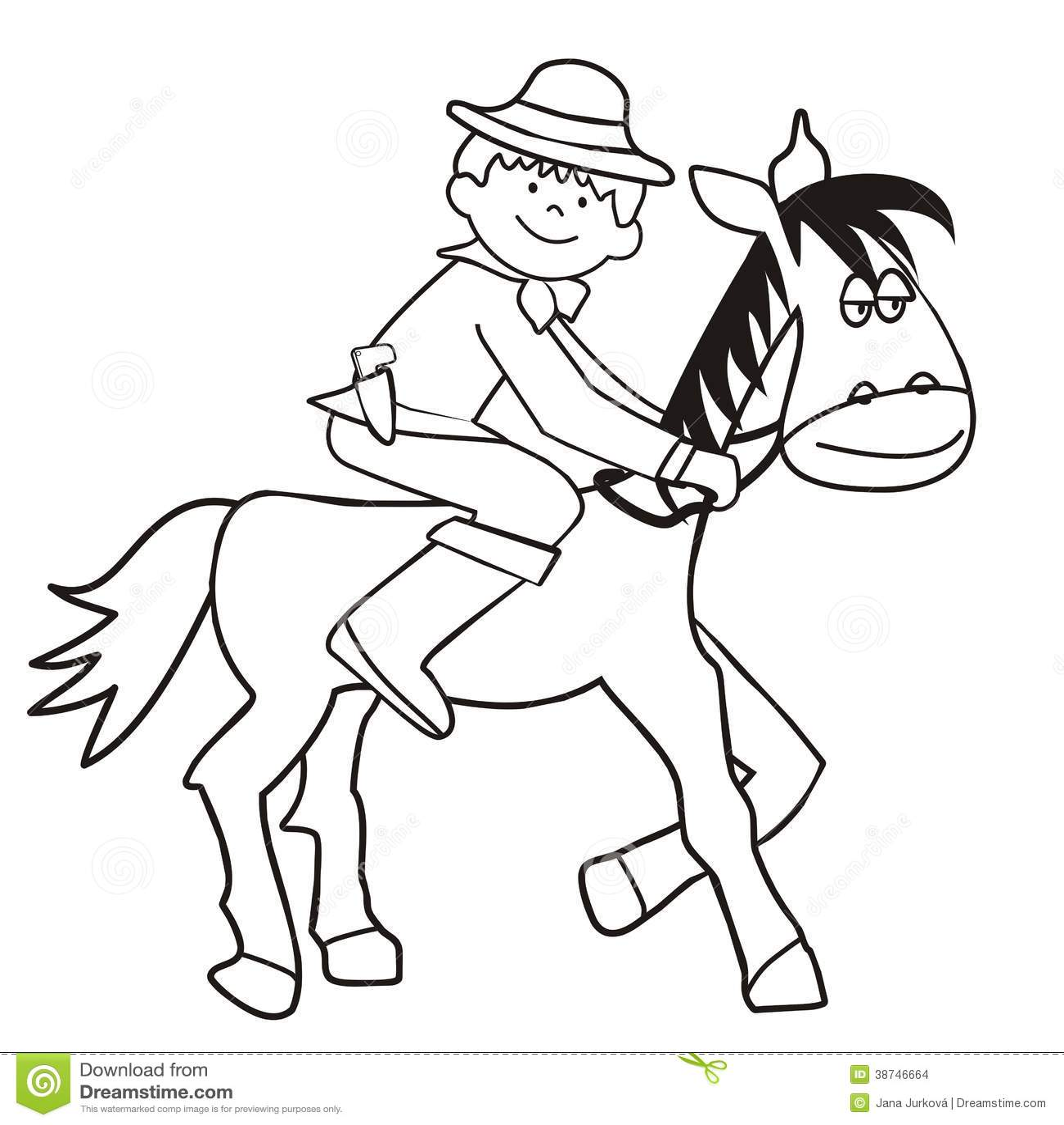 Hast Och Cowboy