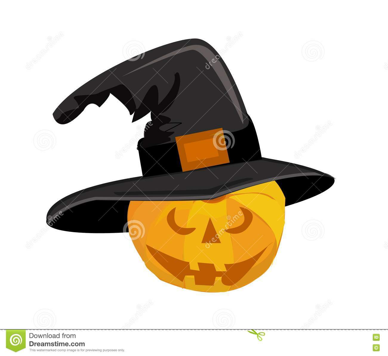 Halloween Pumpkin Stock Illustration Illustration Of