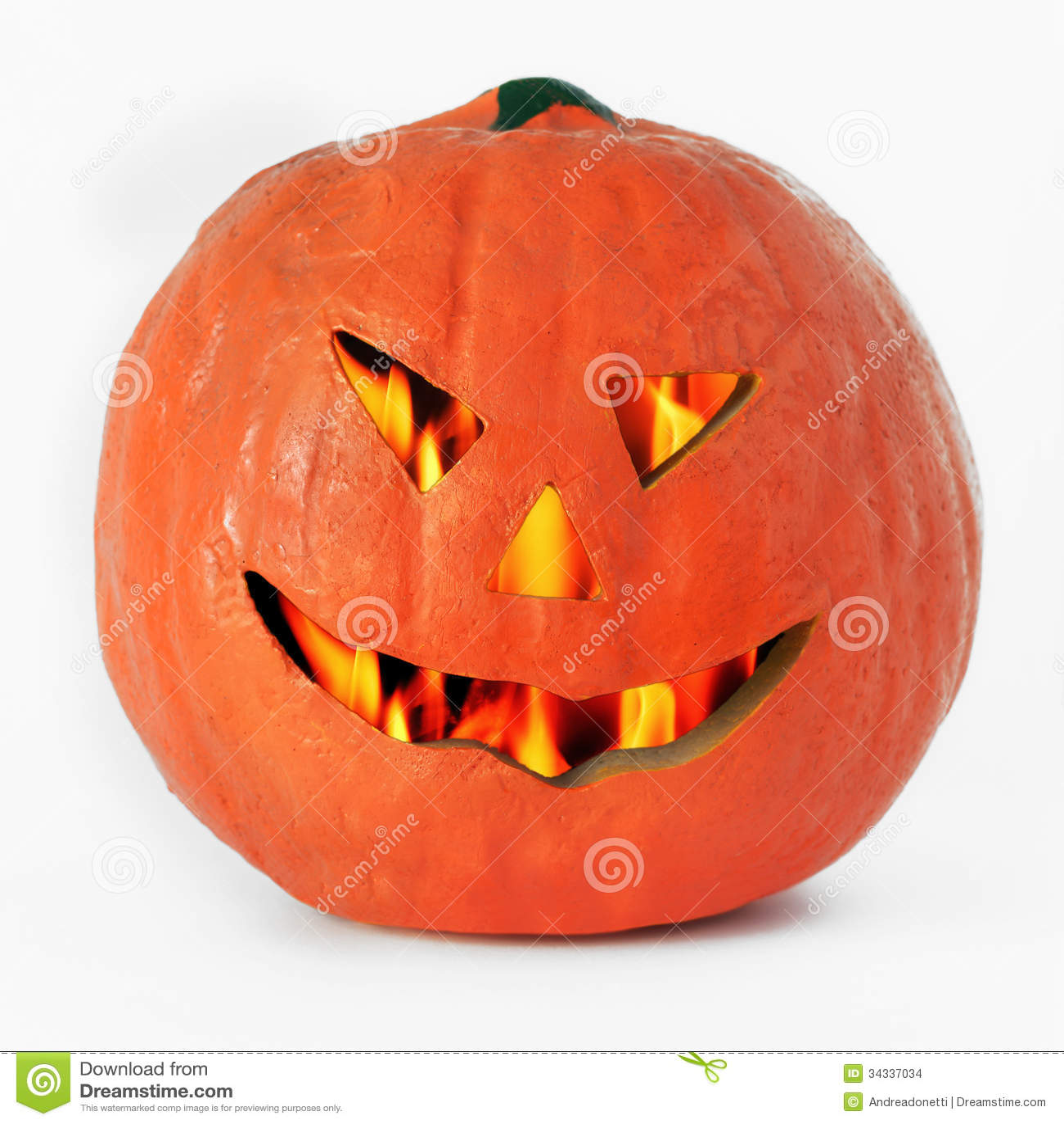 Halloween Pumpkin Lantern Stock Photo Image Of Scary