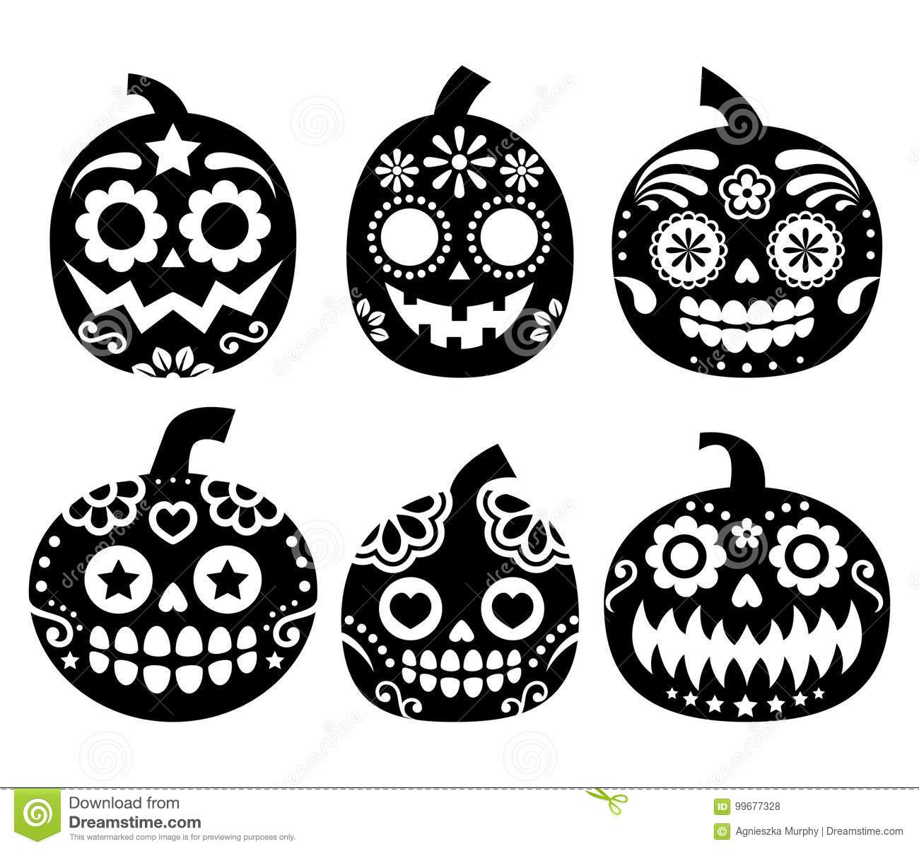 Halloween Pumpkin Vector Design