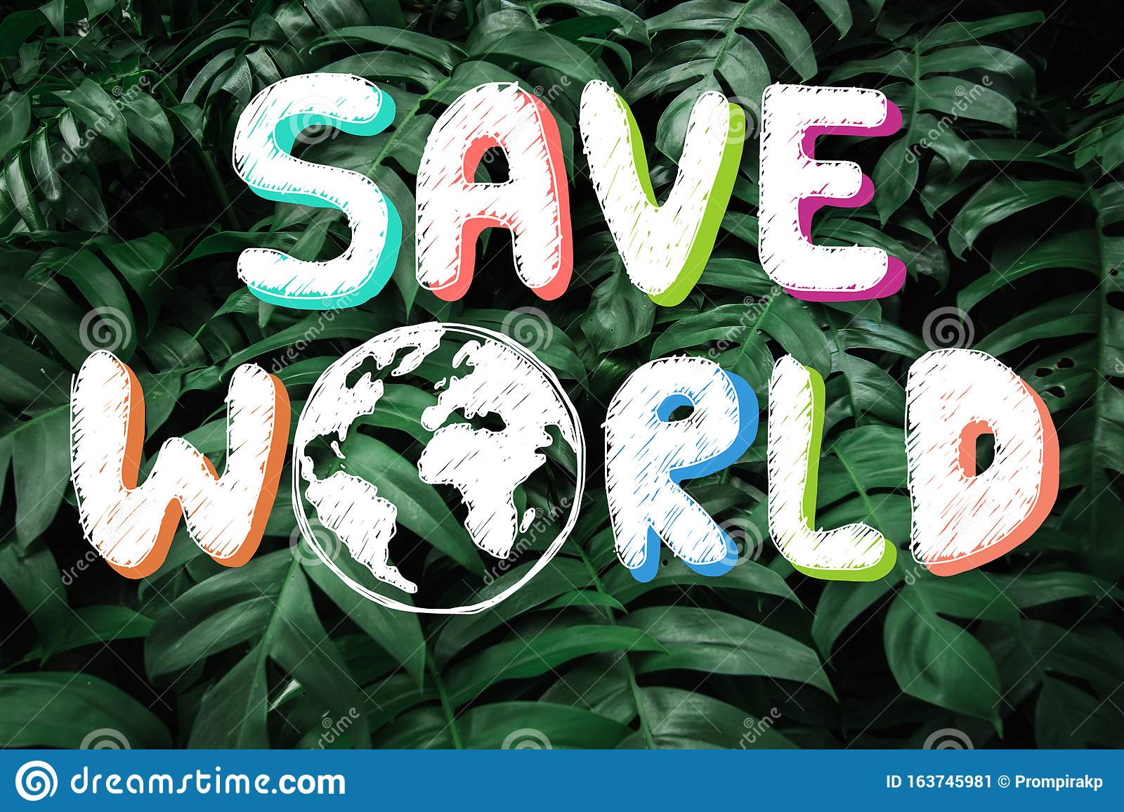 Tune in to find out! Hand Drawing Save The World On Green Forest Leaves Nature Background In Happy Earth Day Environmental Conservation And Saving Stock Image Image Of Leaf Natural 163745981