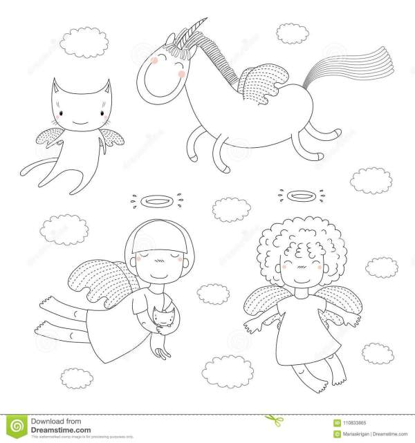 angels coloring pages # 85