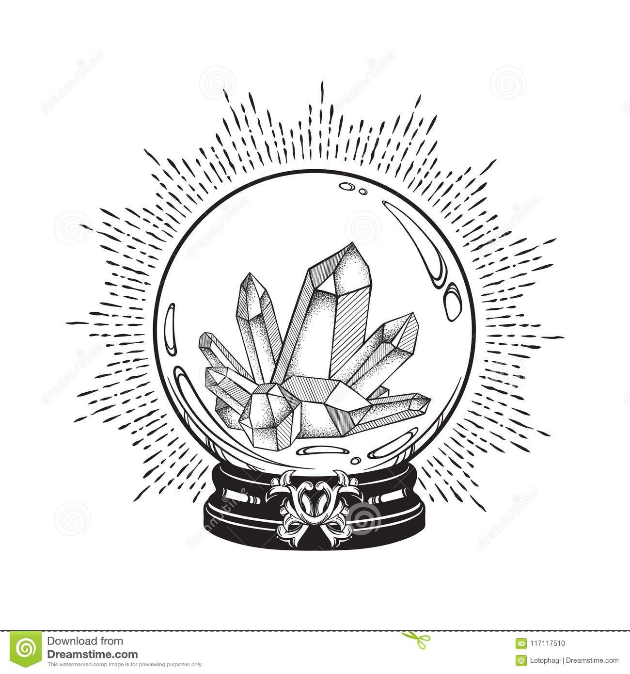 Crystal Cartoons Illustrations Amp Vector Stock Images