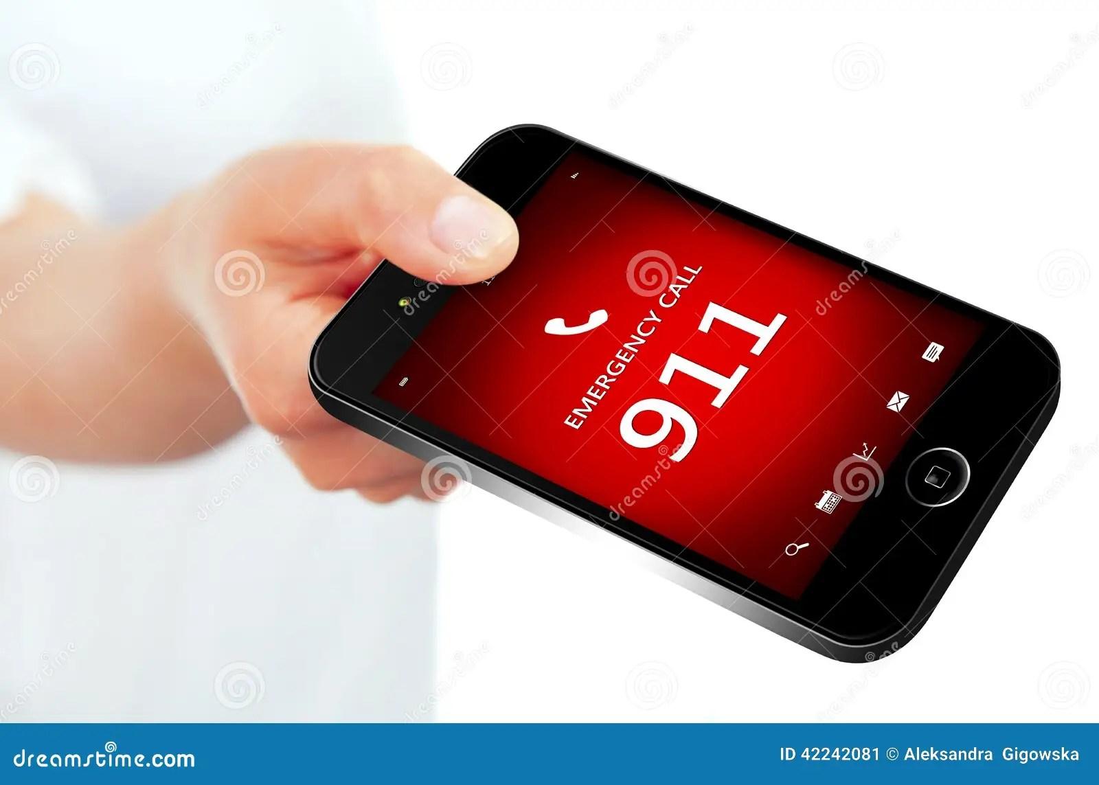 911 Phone Stock Photography