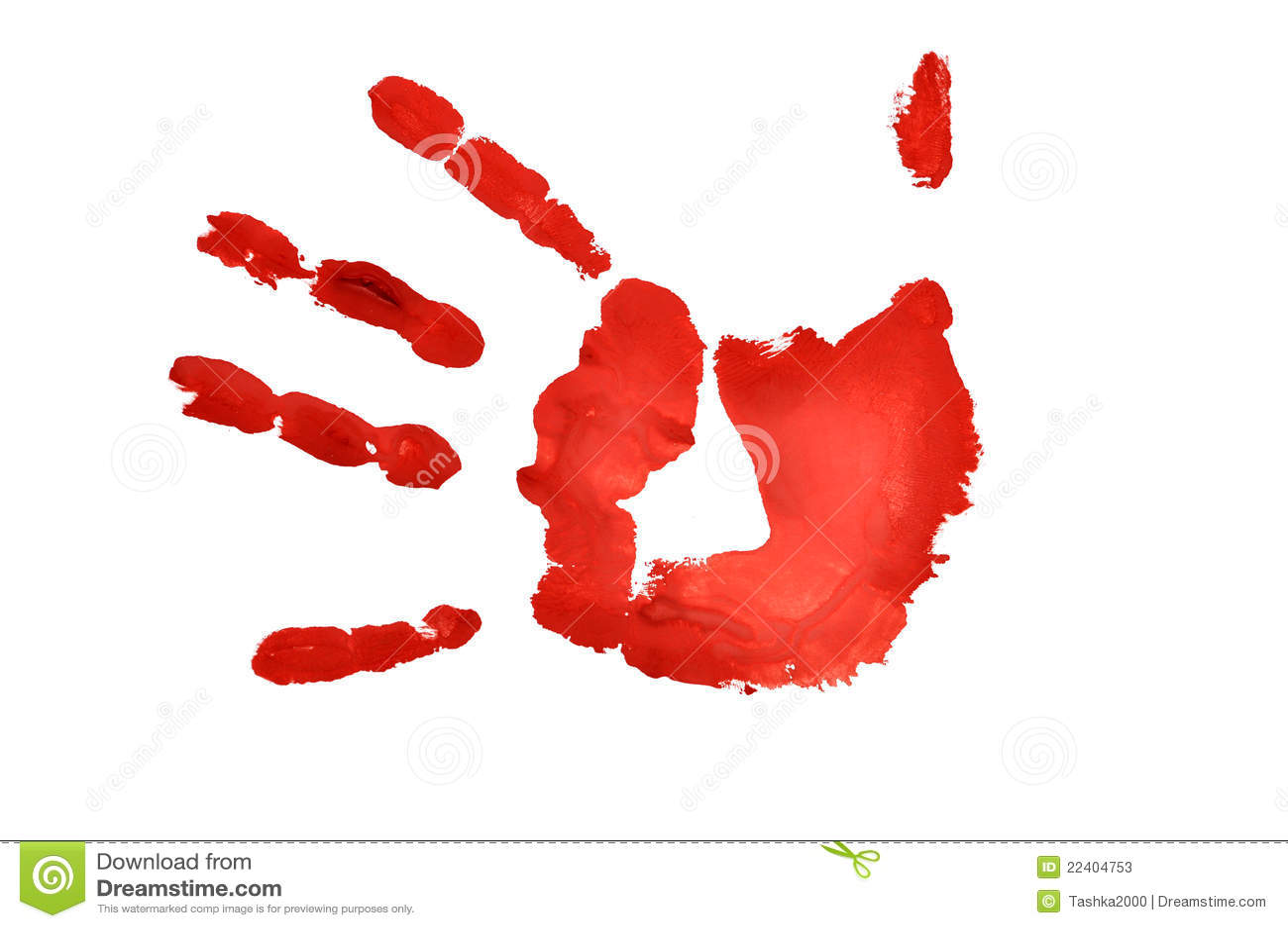 Hand Imprint Stock Photos Image 22404753