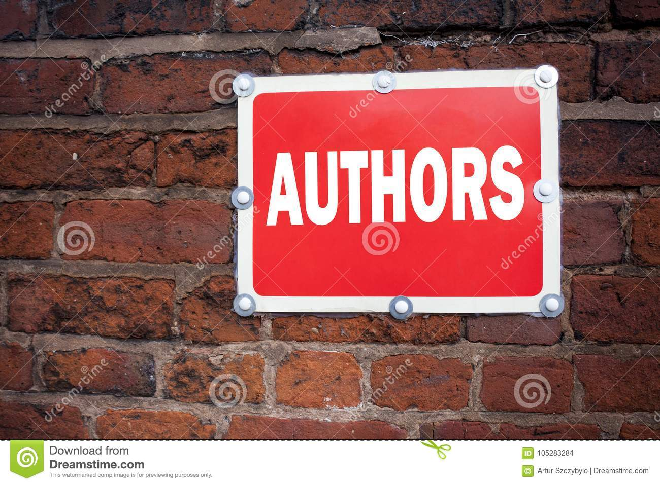 Hand Writing Text Caption Inspiration Showing Authors