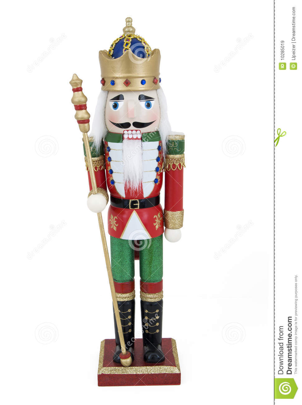 Handsome Nutcracker Royalty Free Stock Images Image