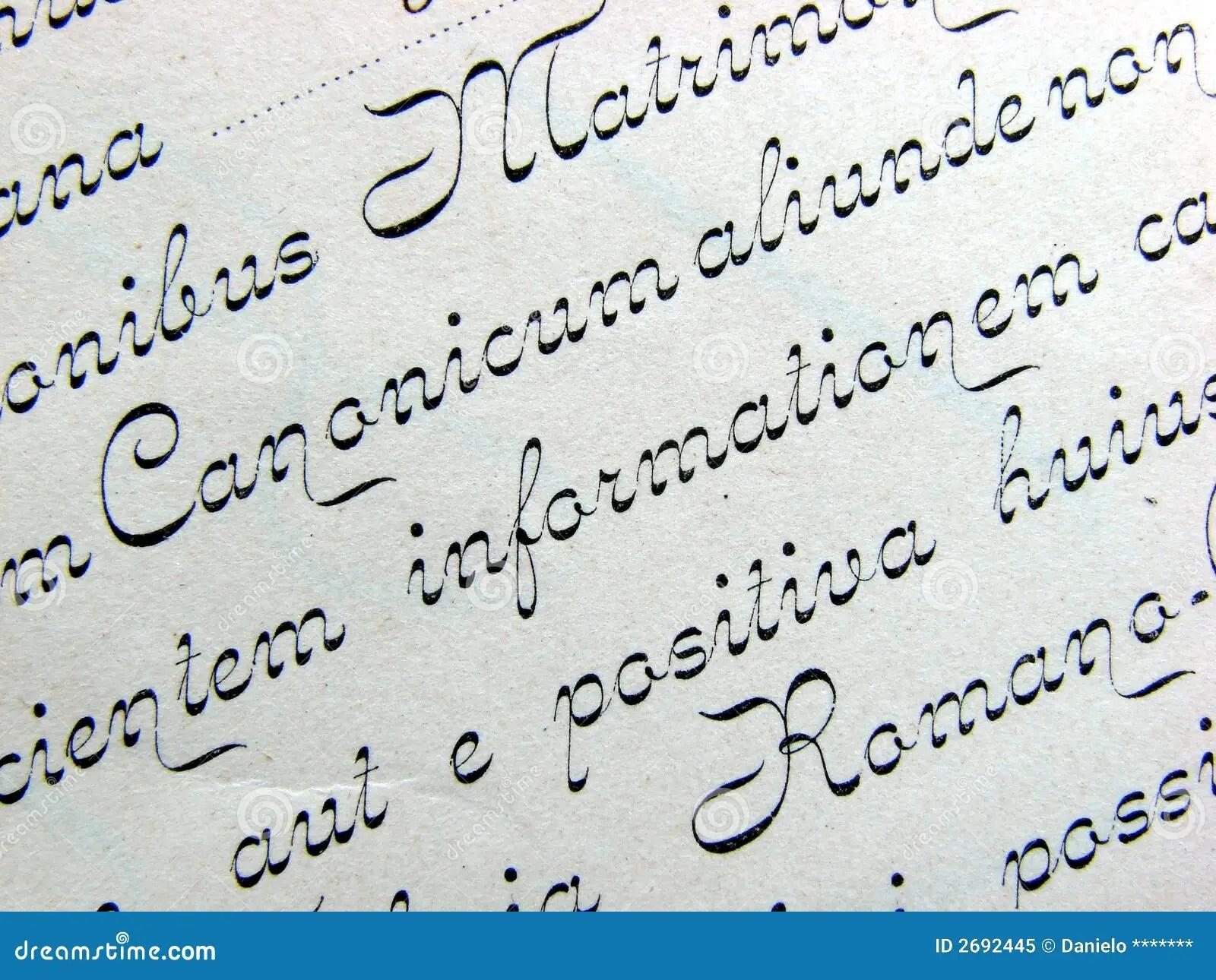 Handwriting Background Stock Image Image Of Classic