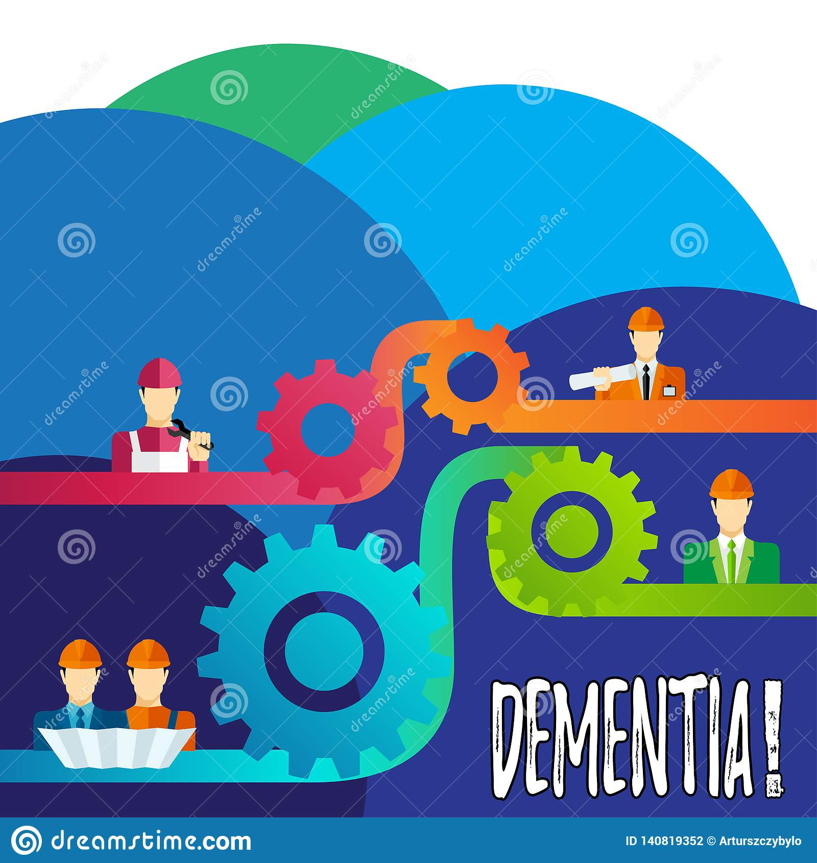 Handwriting Text Writing Dementia Concept Meaning Long