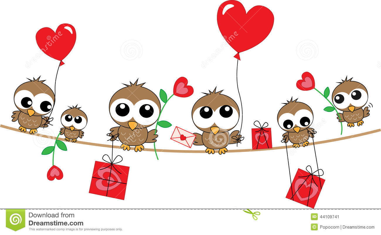 Happy Birthday Love Header Stock Vector Illustration Of