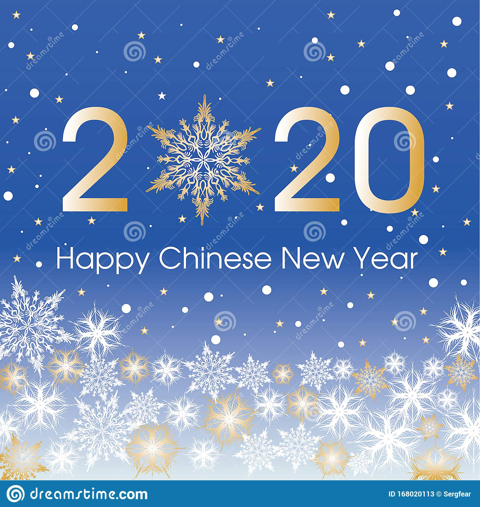 Happy Chinese New Year Card Template Design Patern