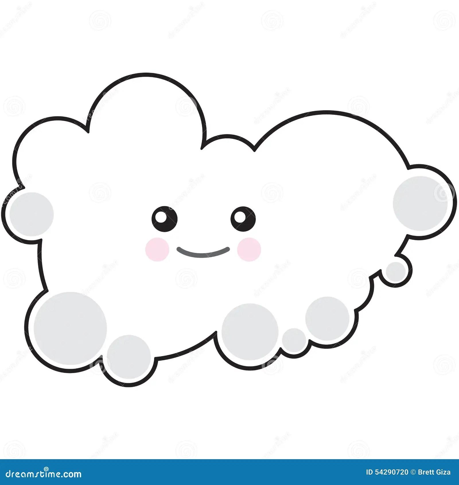 Stock Photo Happy Cloud Image
