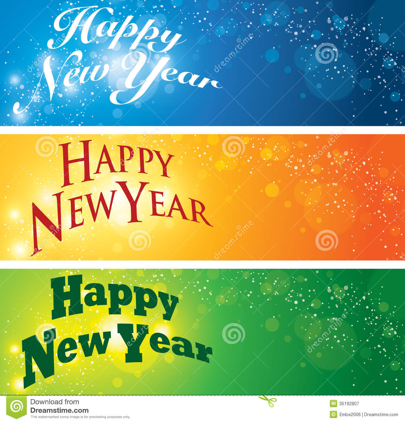 banner happy new year