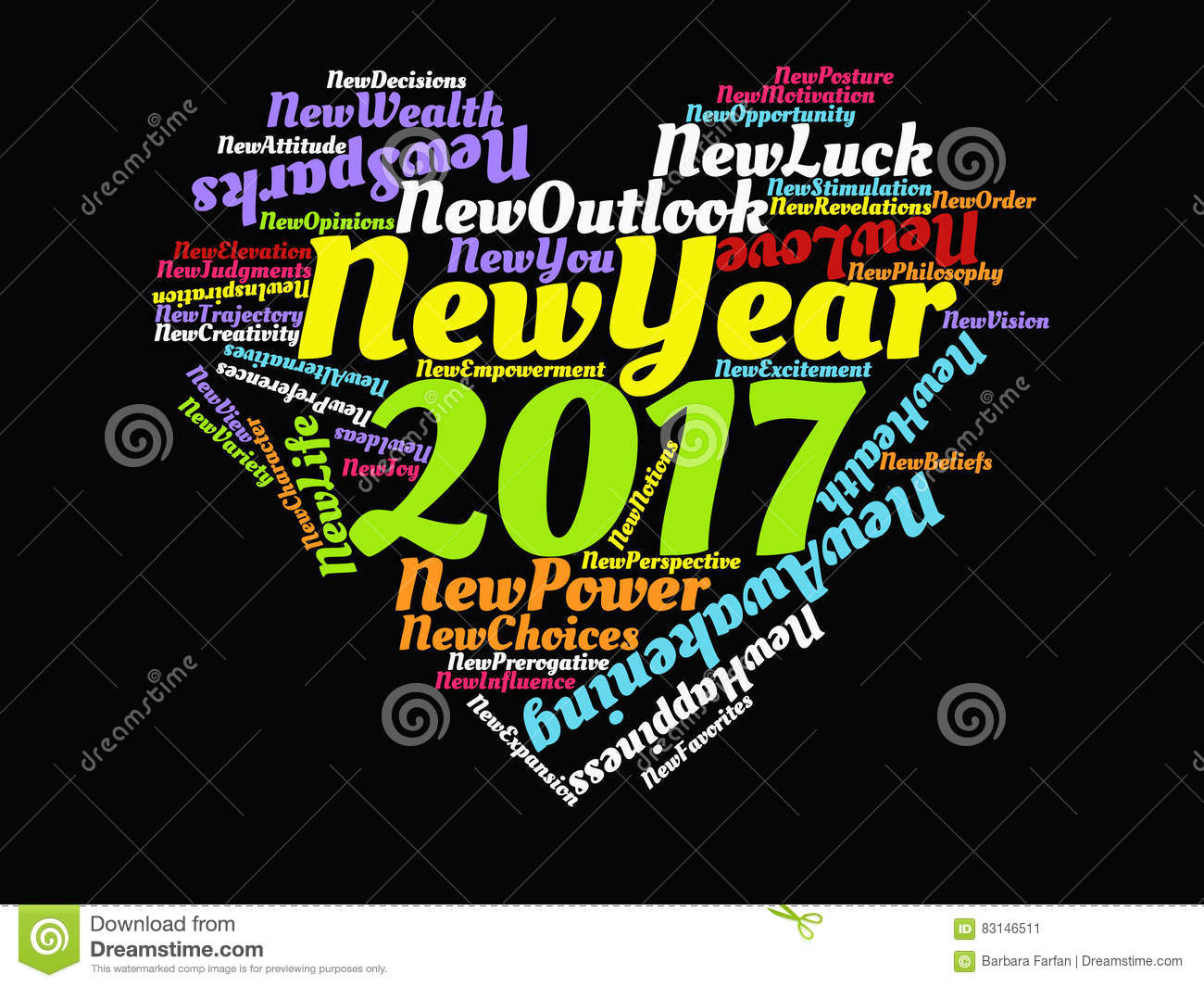 2017 Happy New Year Motivational Quotes And Inspirational Sayings     Download 2017 Happy New Year Motivational Quotes And Inspirational Sayings  Heart Graphic Artwork Poster In Rainbow