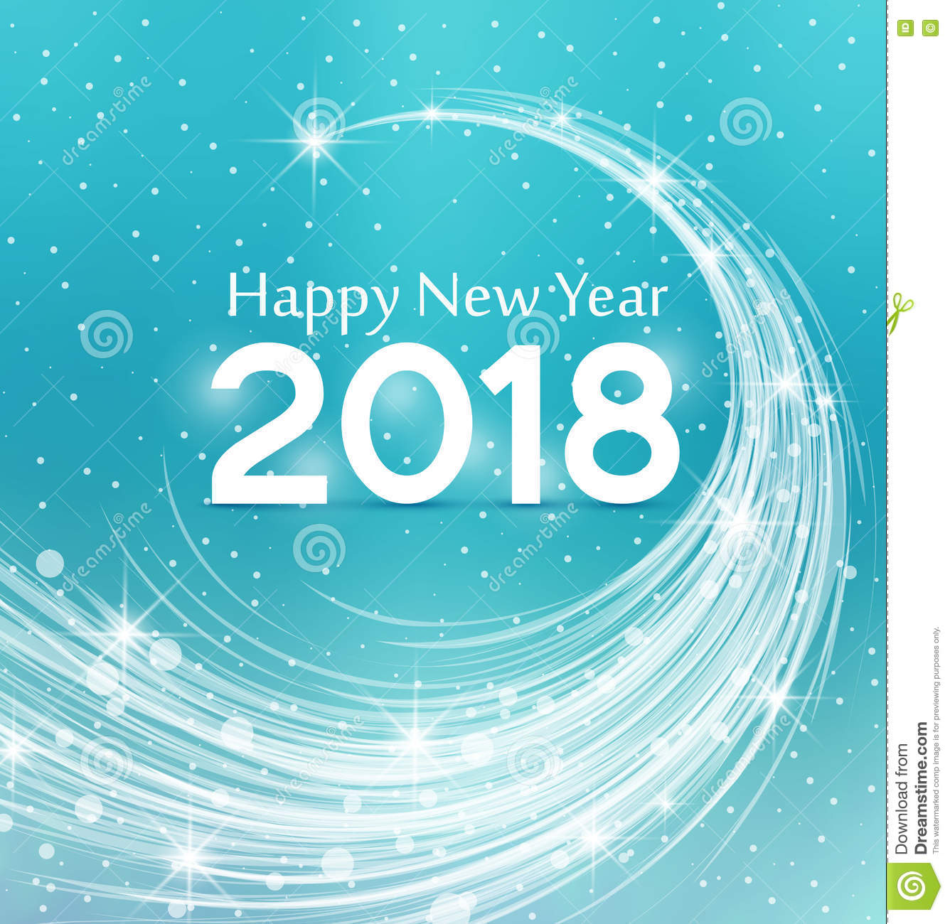 background happy new year 2018
