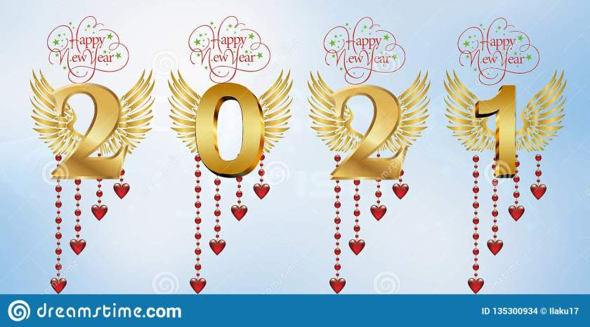 happy new year 21 stock illustration. illustration of