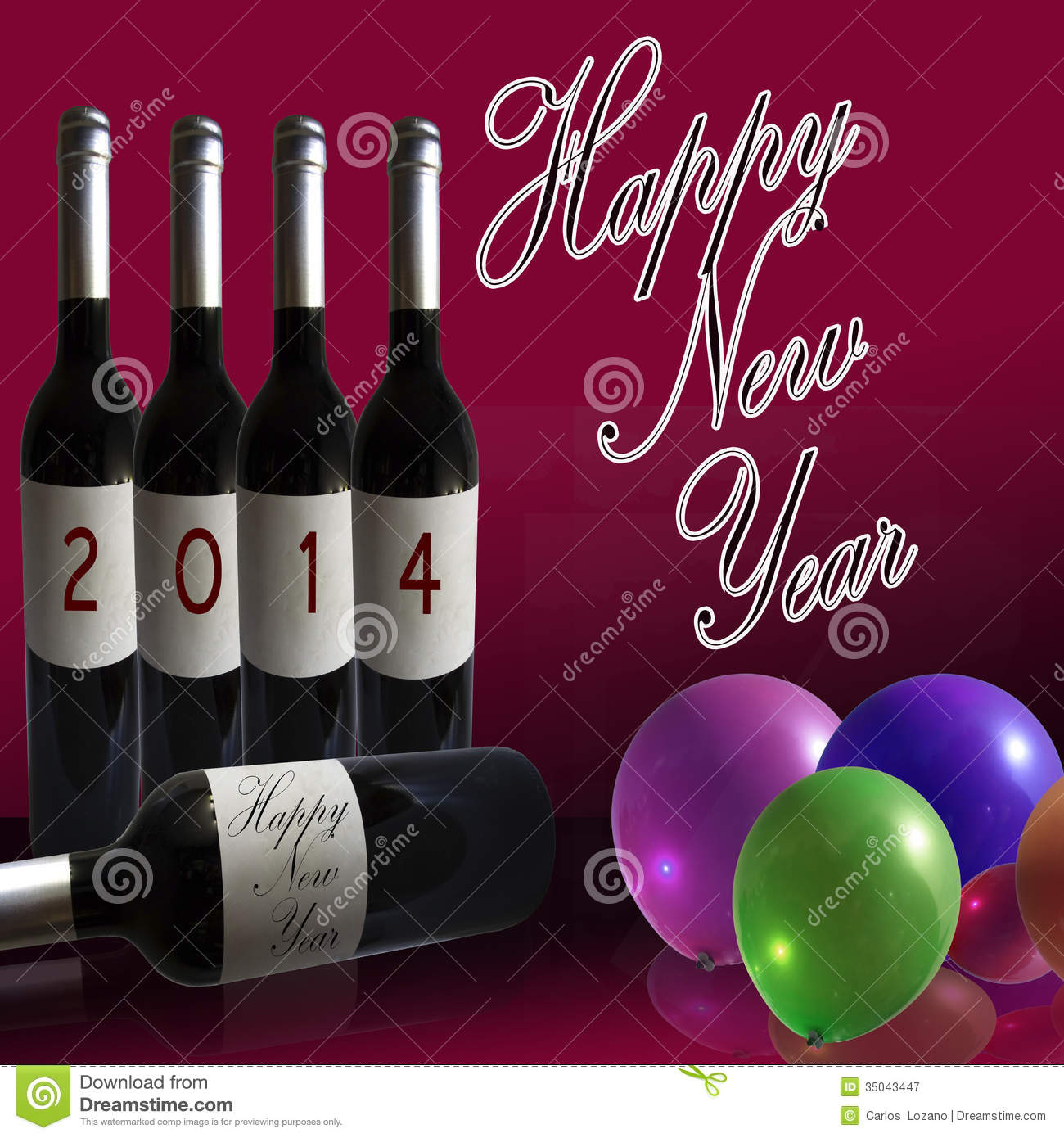wine happy new year
