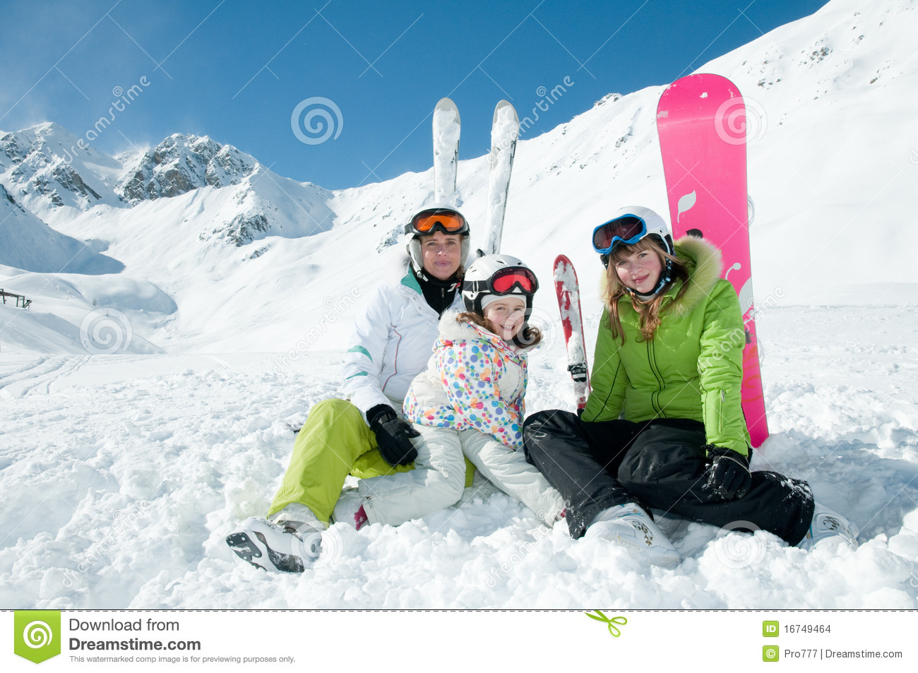 Happy Winter Vacation Stock Images Image 16749464
