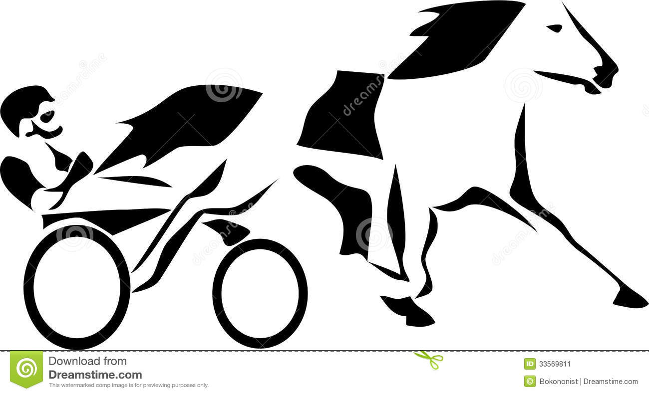 Harness Stock Vector Illustration Of Race Standard