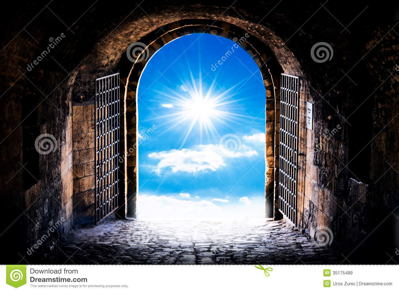 Havens Gate Royalty Free Stock Images Image 35175489