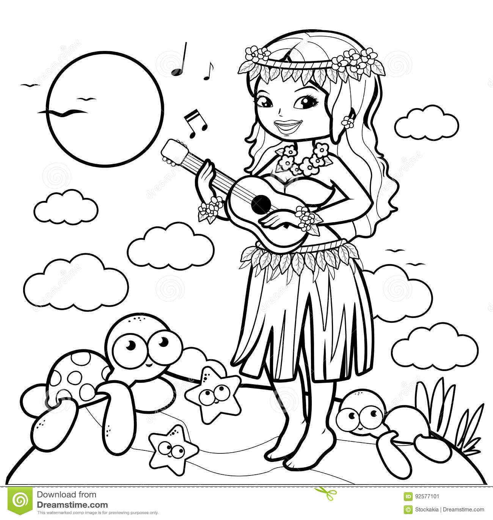 Ukulele Cartoons Illustrations Amp Vector Stock Images