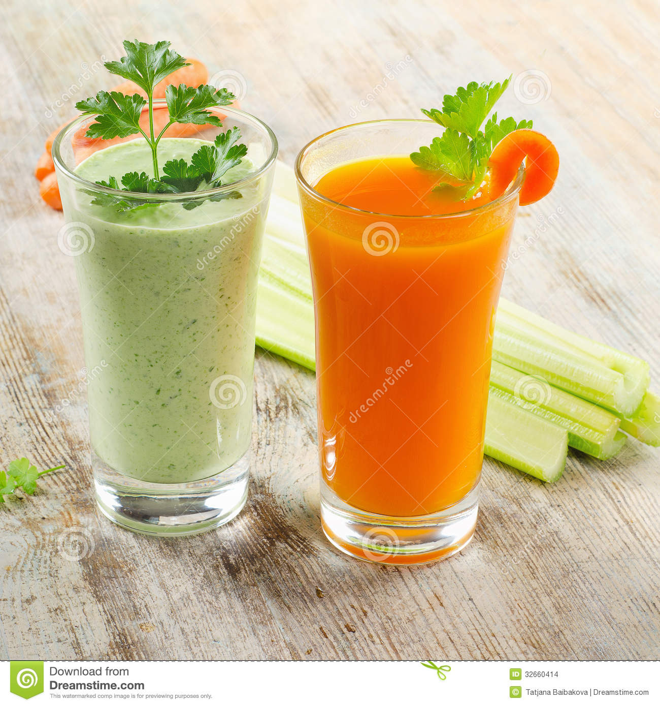 Healthy Drinks Stock Photo Image Of Cucumber Freshness 32660414