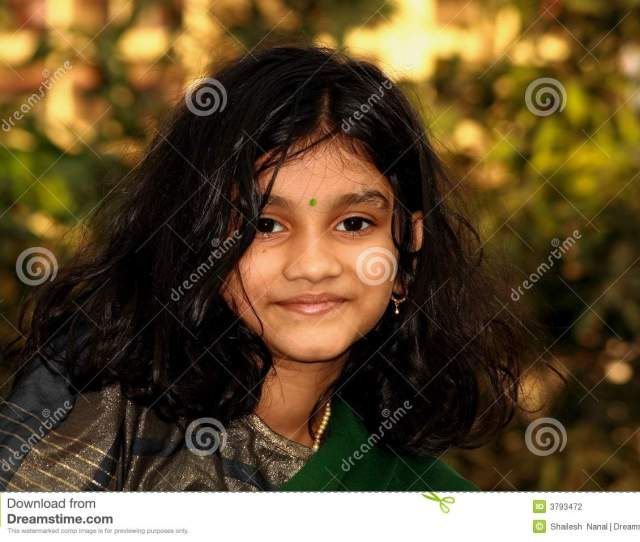Healthy South Indian Girl
