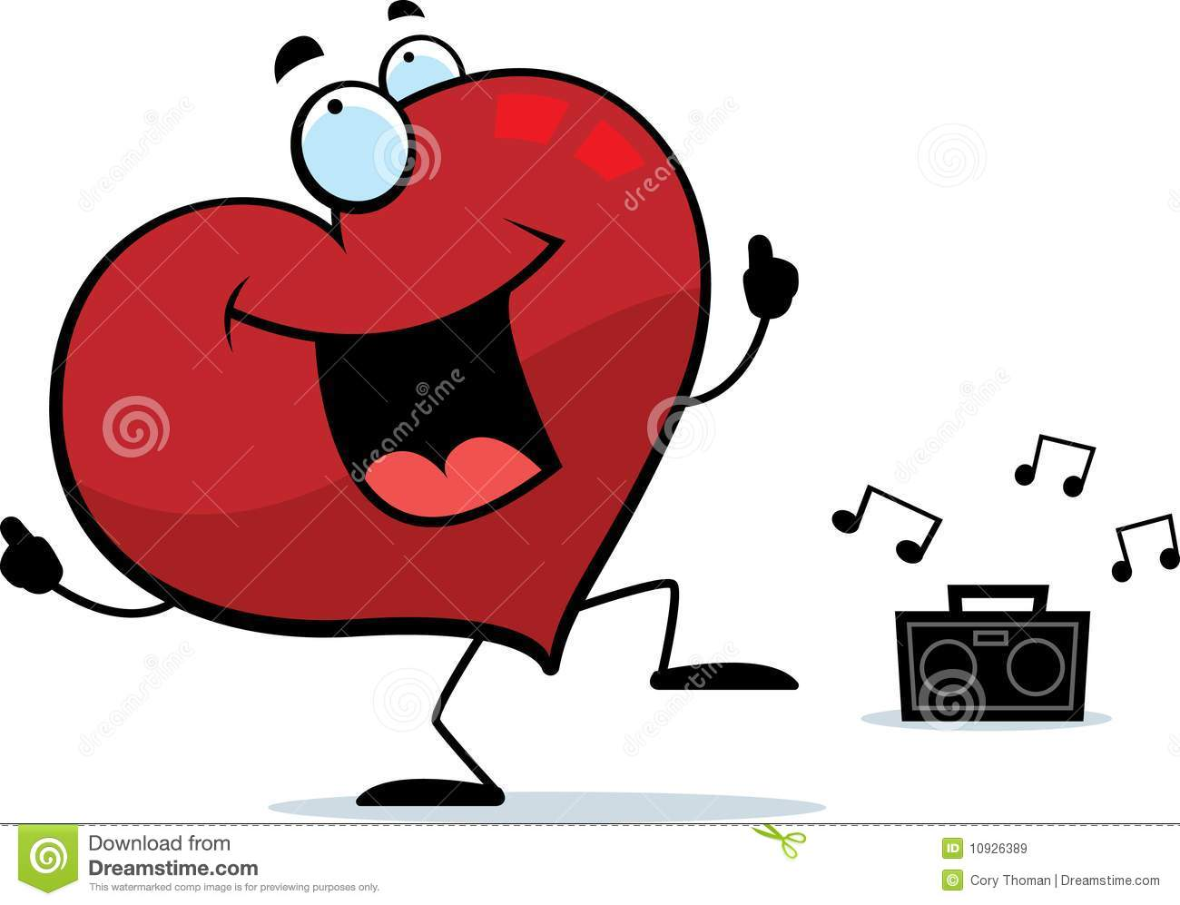 Heart Dancing Royalty Free Stock Images Image 10926389