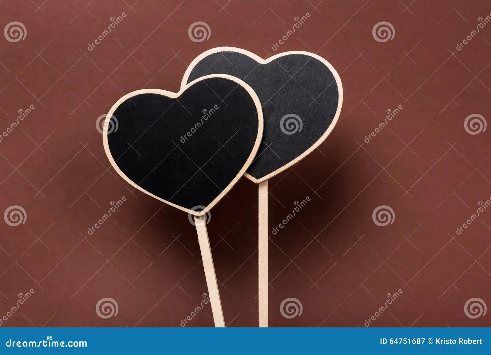Heart Label Stock Photo