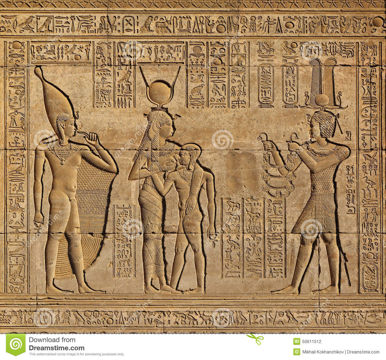 A Ancient Egyptian Hieroglyphics For Kids