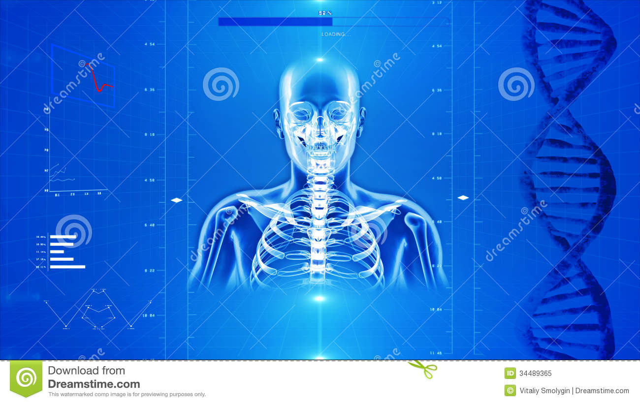 High Tech Background Royalty Free Stock Photo