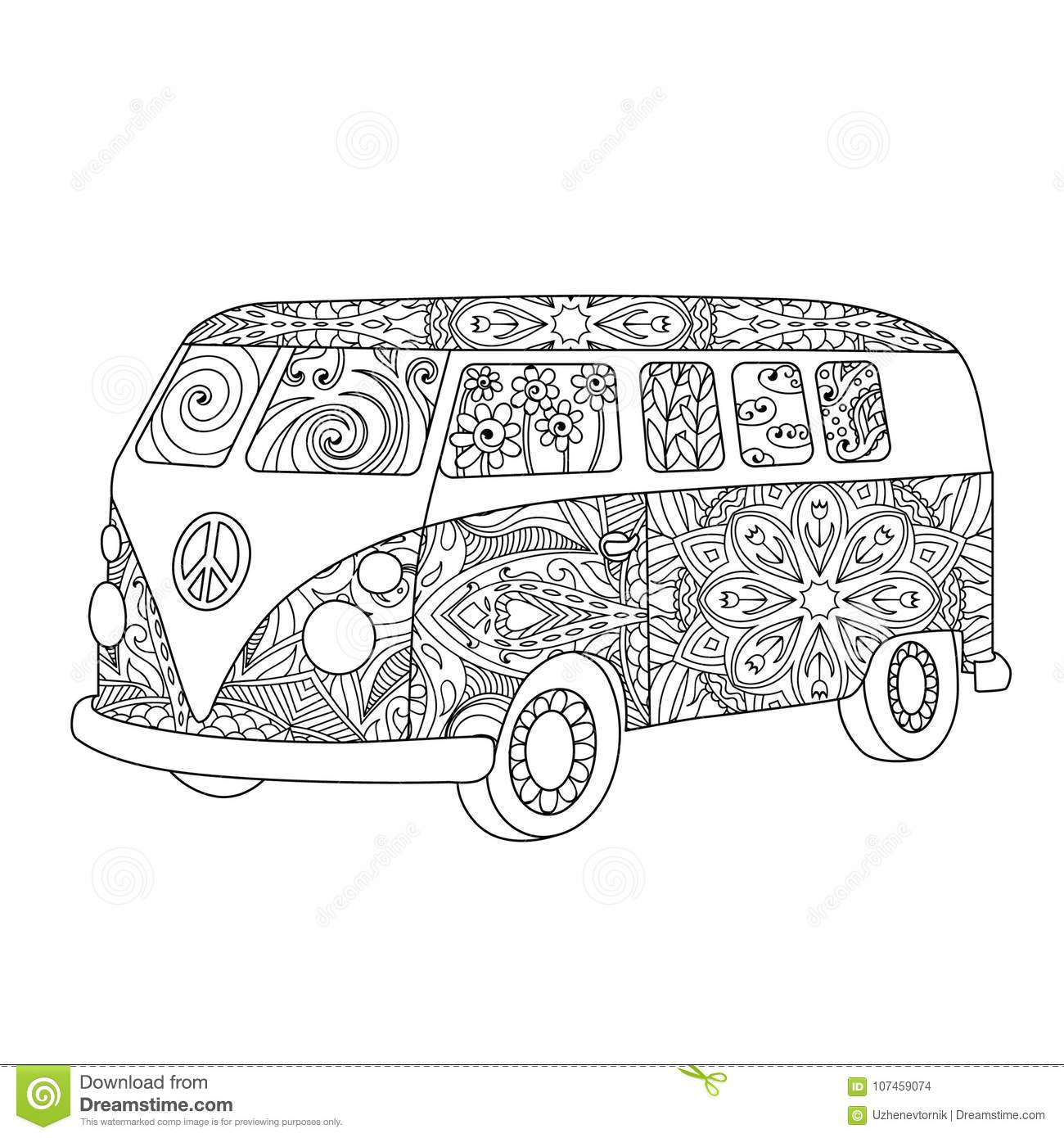 Hippie Cartoons Illustrations Amp Vector Stock Images