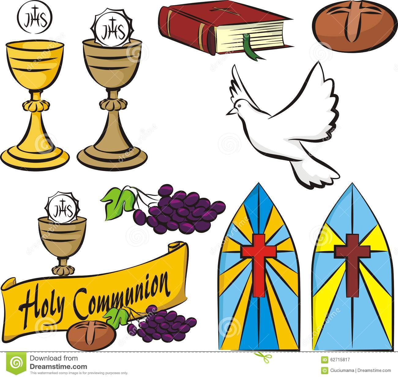 First Holy Communion Symbols