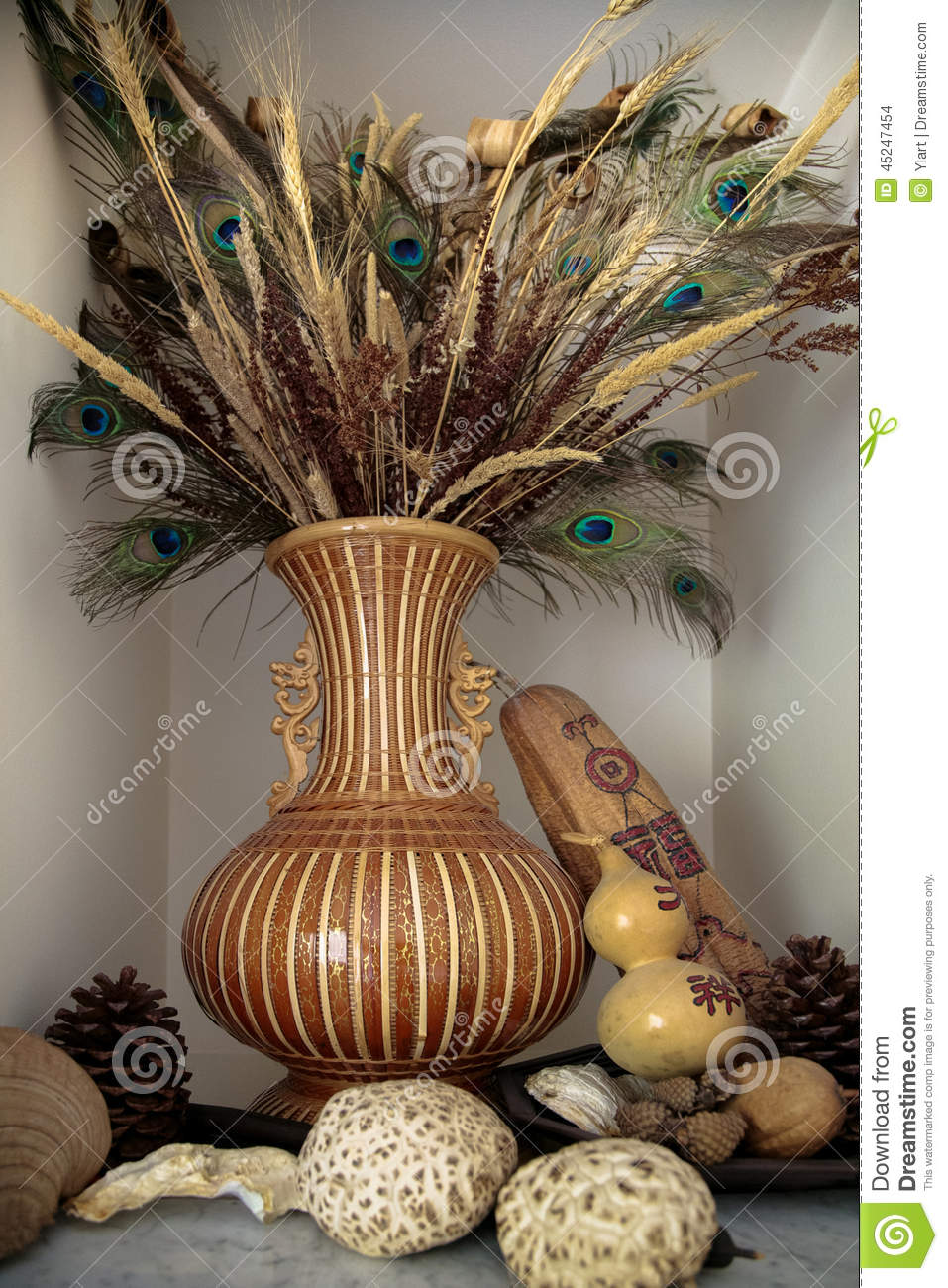 Home Decoration Stock Photo Image Of Wooden Home Decor