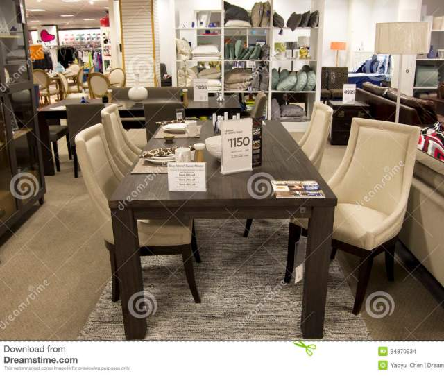 A Department Store Was Selling Expensive Home Furniture In Seattle Area