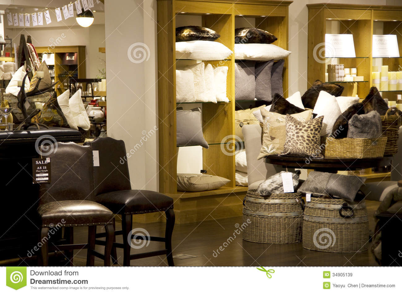 Home Goods Store Royalty Free Stock Images Image 34905139