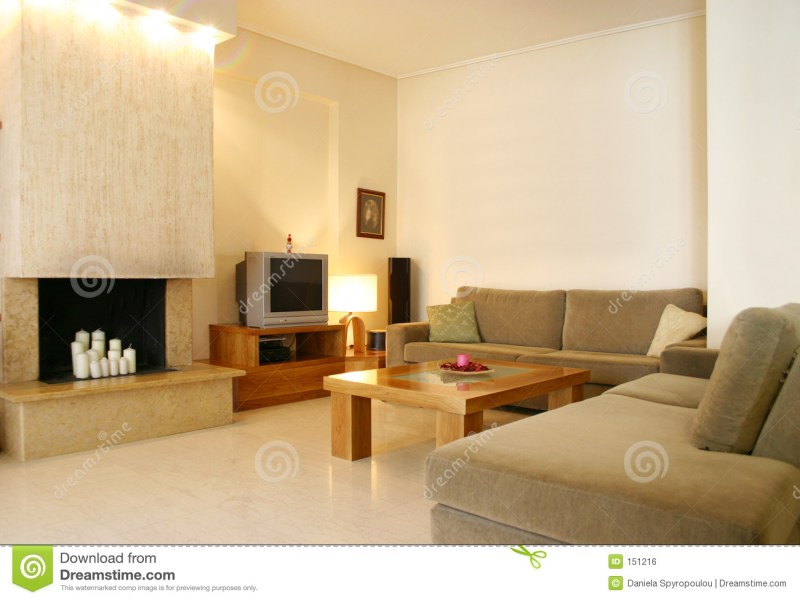 Home interior design stock photo  Image of modern  decorating   151216 Download comp