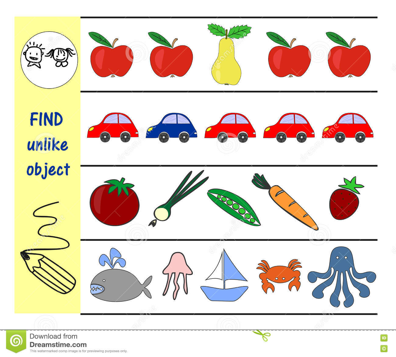 Homework For Kids How To Find An Extra Subject Stock