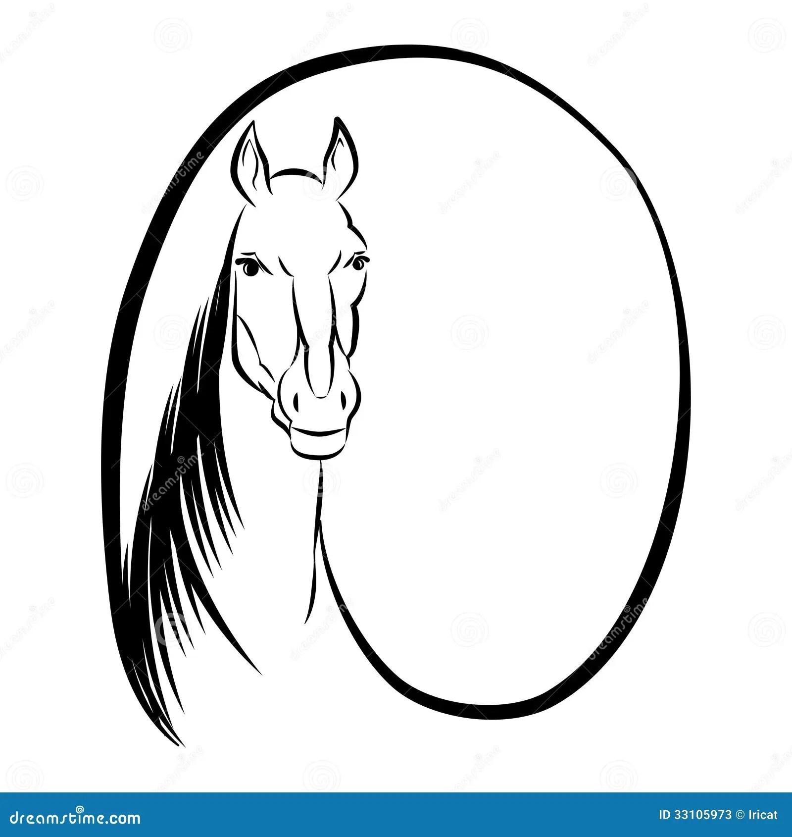 Horse Symbol Stock Photos