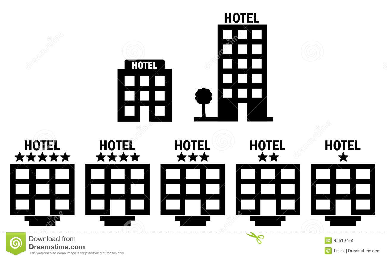 Hotel Icons Stock Photo Illustration Of Quality