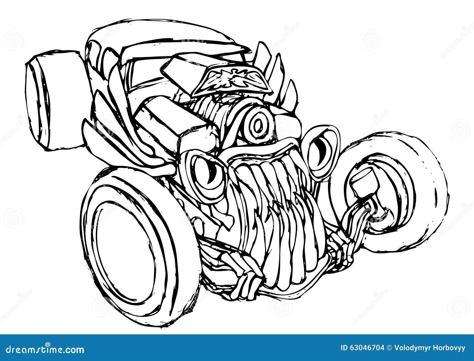 Hotrod Truck Cartoons Illustrations Amp Vector Stock Images